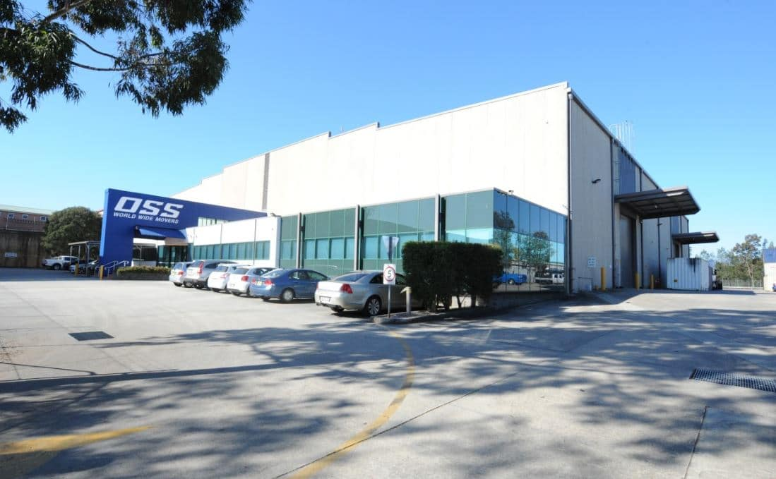 OSS World Wide Movers Sydney Warehouse and Office