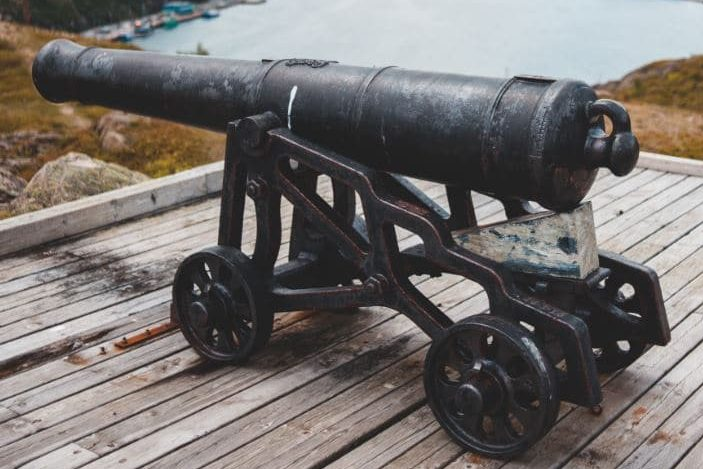Moving Antique Guns and Firearms